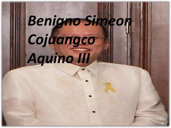 Benigno SimeonCojuangcoAquino III