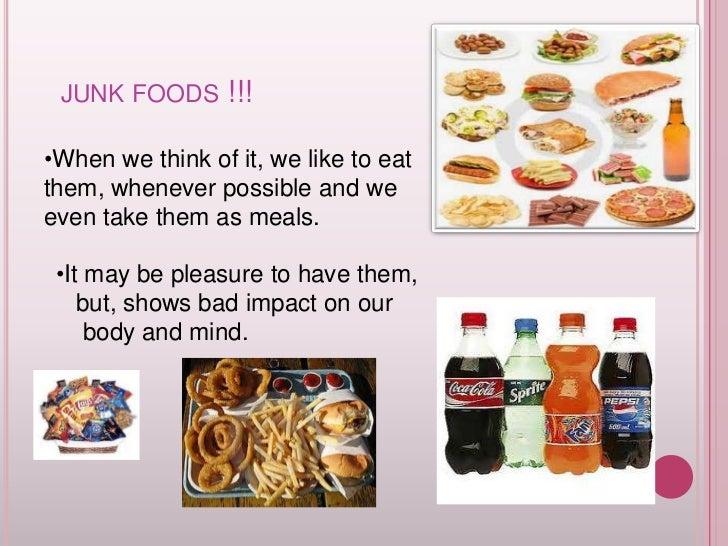 harmful effects of junk food wikipedia