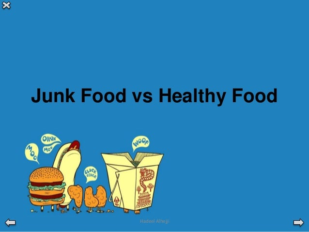 essay healthy food vs junk food