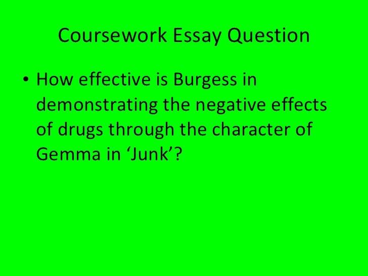 Junk melvin burgess essay