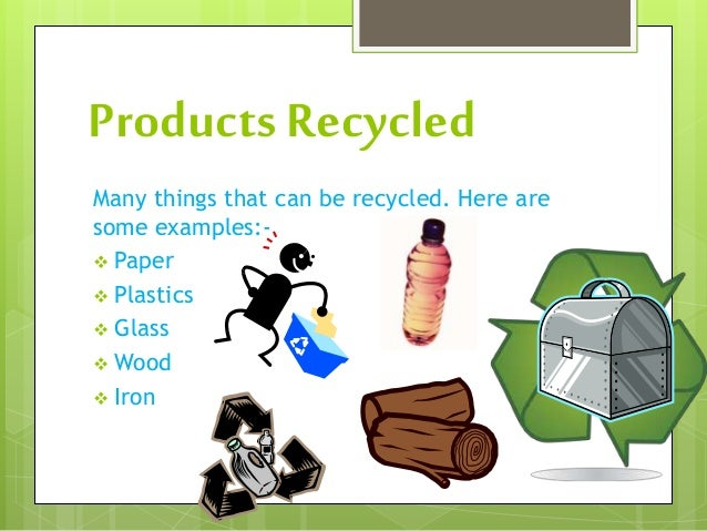 Recycling: Methods And MOt