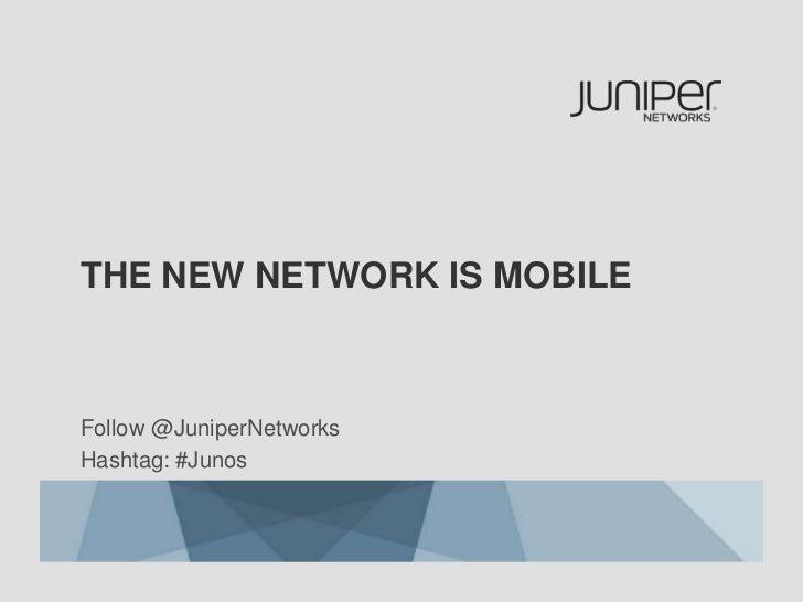 Junos Pulse Mobile Security Suite Launch