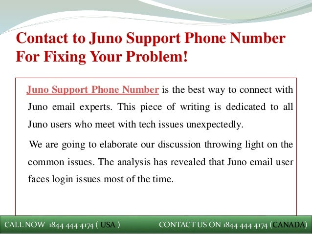 Juno Support Phone Number +1(844).444(4174) | Call Now