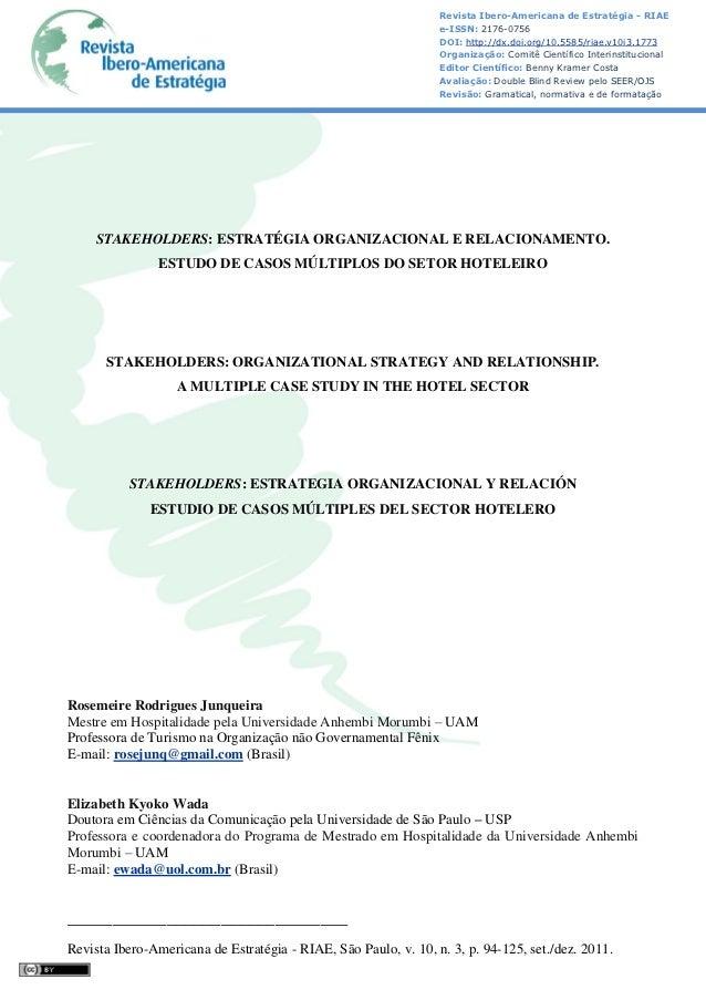 Revista Ibero-Americana de Estratégia - RIAE                                                                 e-ISSN: 2176-...