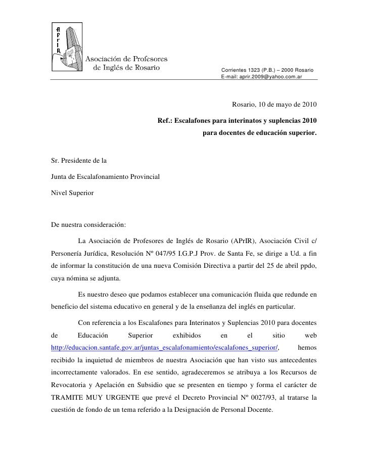 Corrientes 1323 (P.B.) – 2000 Rosario                                                              E-mail: aprir.2009@yaho...