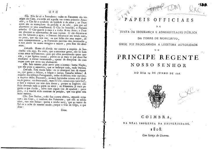 Papéis oficiais da Junta de Freguesia de Moncorvo - 1808