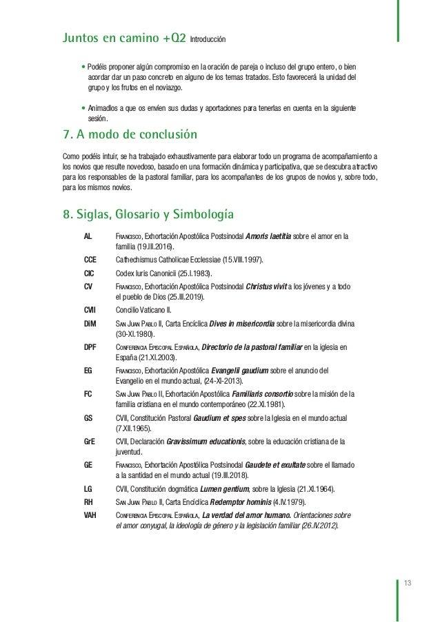 14 Juntos en camino +Q2 Introducción