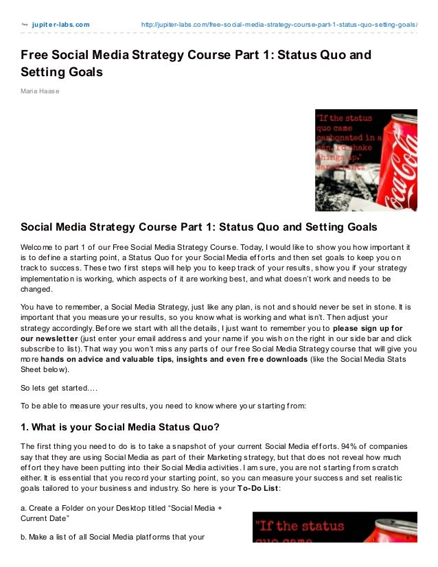 jupit er-labs.com http://jupiter-labs.com/free-social-media-strategy-course-part-1-status-quo-setting-goals/ Maria Haase F...