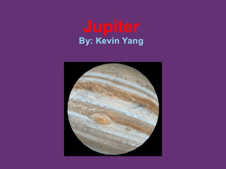 Jupiter By: Kevin Yang