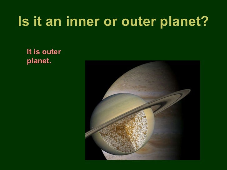 is jupiter a inner or outer planet - photo #26