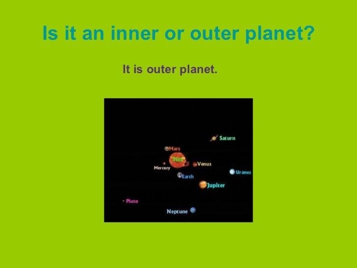 is jupiter a inner or outer planet - photo #32