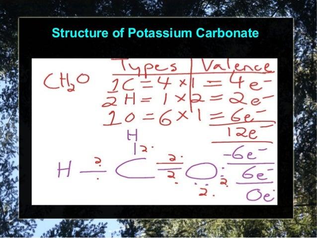 Advantage of Potassium Carbonate