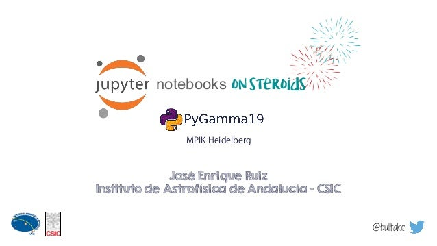 Jupyter notebooks on steroids