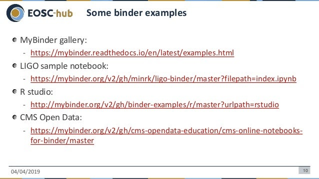Reproducible Open Science with EGI Notebooks, Binder and Zenodo