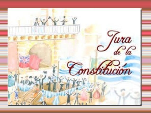 En Uruguay, la expresión Jura de la Constitución hace referencia al acto ocurrido el 18 de julio de 1830, cuando se juró l...