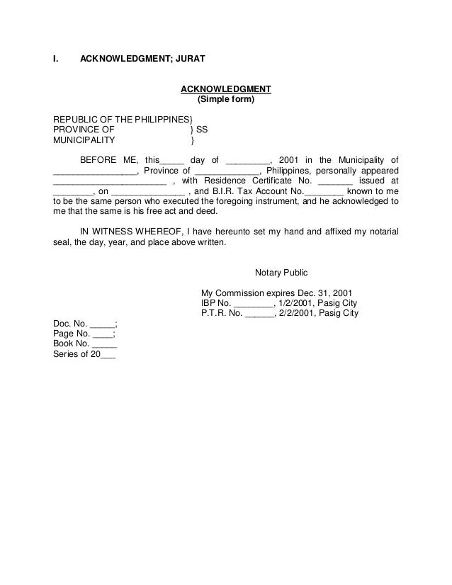 Sworn Affidavit Form Sample Sworn Affidavit Rogelio Montealto
