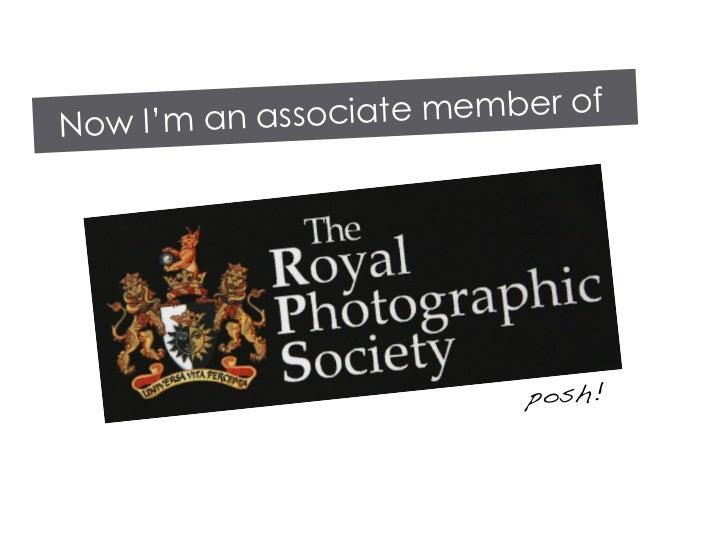 member of Now I'm an associate                                posh!