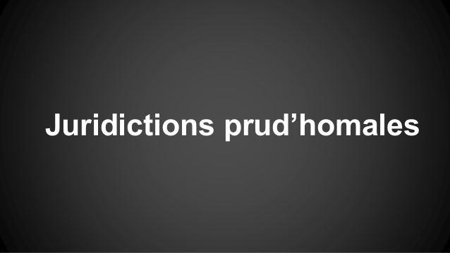 Juridictions prud'homales