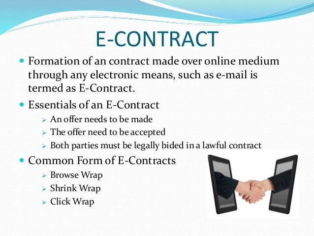 E-CONTRACT ...