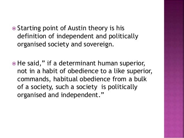 austin command theory