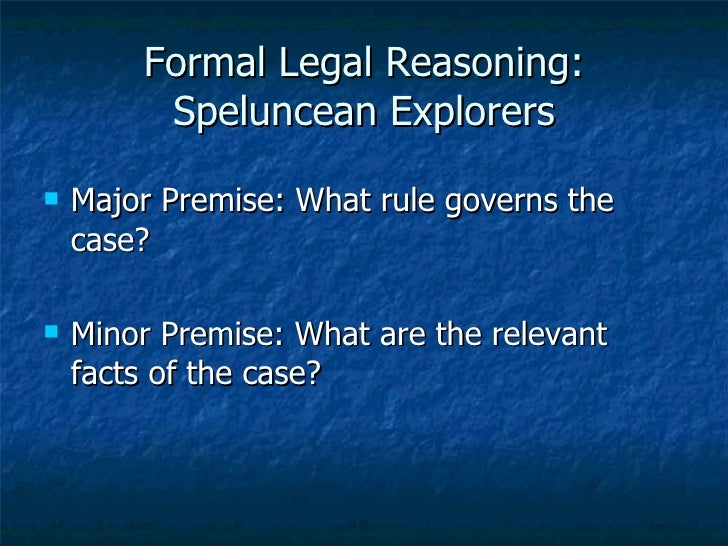 Case of speluncean explorers