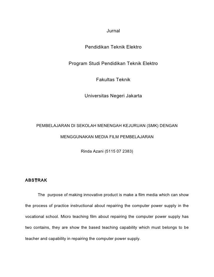 Jurnal                                   Pendidikan Teknik Elektro                          Program Studi Pendidikan Tekni...