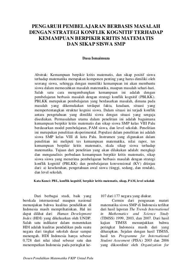 Jurnal Pendidikan Agama Jurnal Pendidikan Matematika Pdf