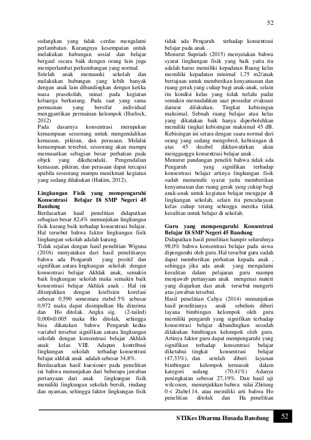 Jurnal Doc : jurnal faktor internal dan eksternal yang mempengaruhi performansi operator