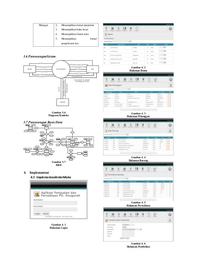 Jurnal pa aplikasi penjualan dan persediaan barang dagang dengan meto menampilkan kartu persediaan gambar 33 proses pembayaran 6 ccuart Images