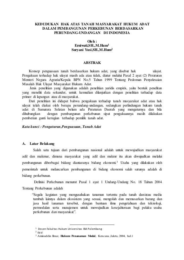 Doc Makalah Hukum Tanah Adat Adat Suku Bali Zakie Muhammad Academia Edu