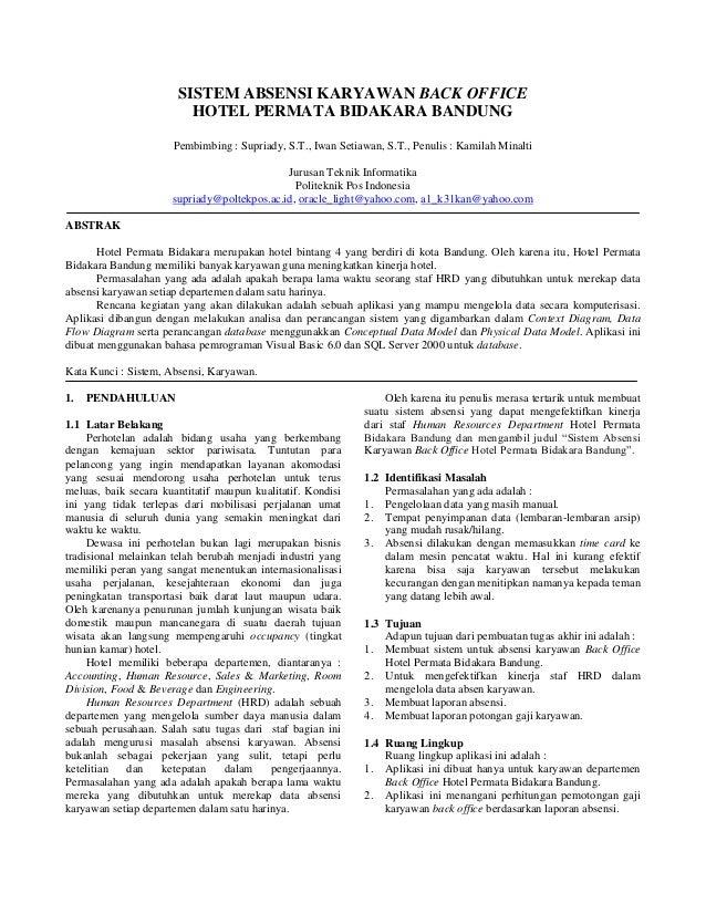 Abstrak Skripsi Teknik Informatika Pejuang Skripsi
