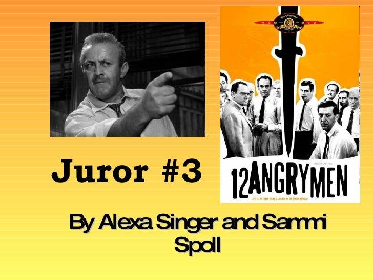 Juror #3 By Alexa Singer and Sammi Spoll