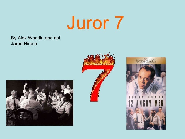Juror  Juror  By Alex Woodin And Not Jared Hirsch  Protein Synthesis Essay also Proposal Essay Topic  Do My Assignment University