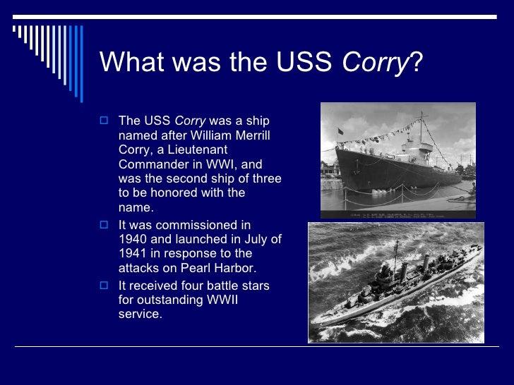 Uss Corry Dd 463