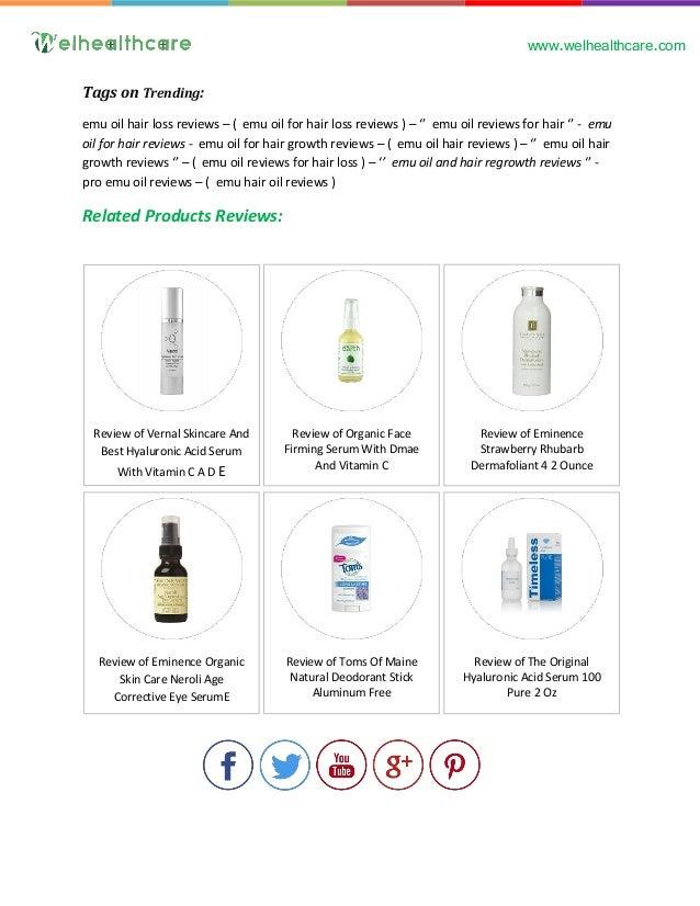 Just Natural Hair Loss Shampoo Review