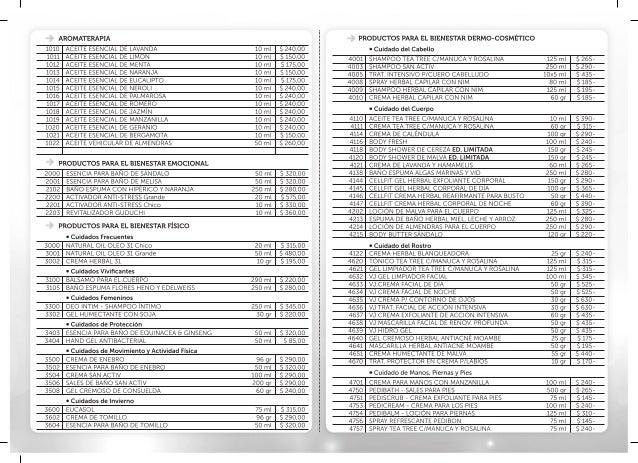 Just 2014 Lista De Precios Frente P10 4ta Semana 1