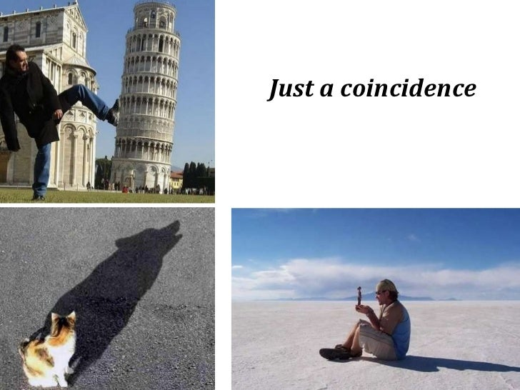Just a coincidence