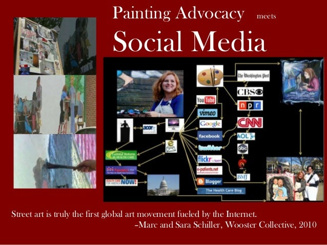 Painting Advocacy meets Social Media Street art is truly the first global art movement fueled by the Internet. –Marc and S...
