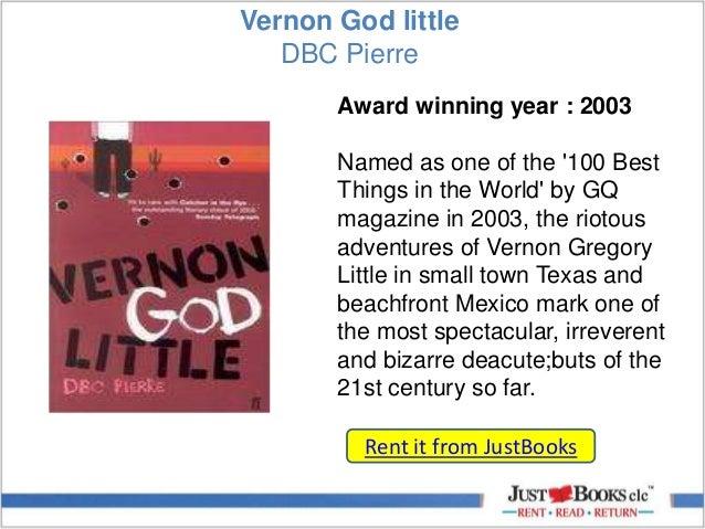 vernon god smaller significant studies essay