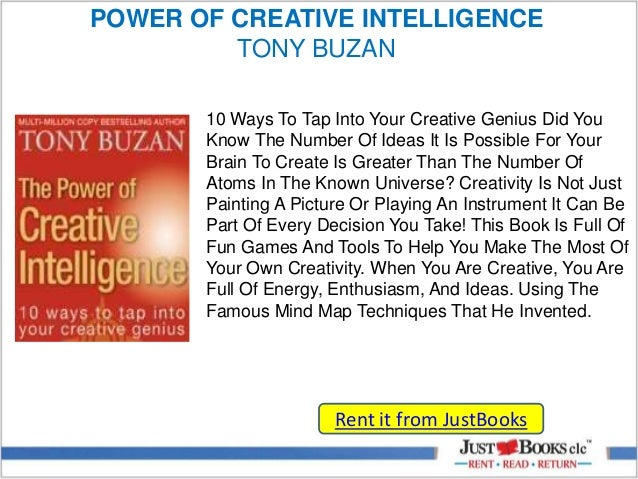 The power of creative intelligence tony buzan pdf
