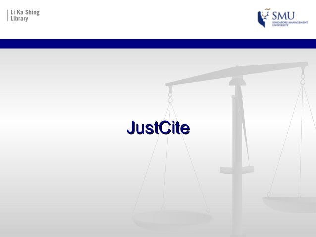 JustCiteJustCite
