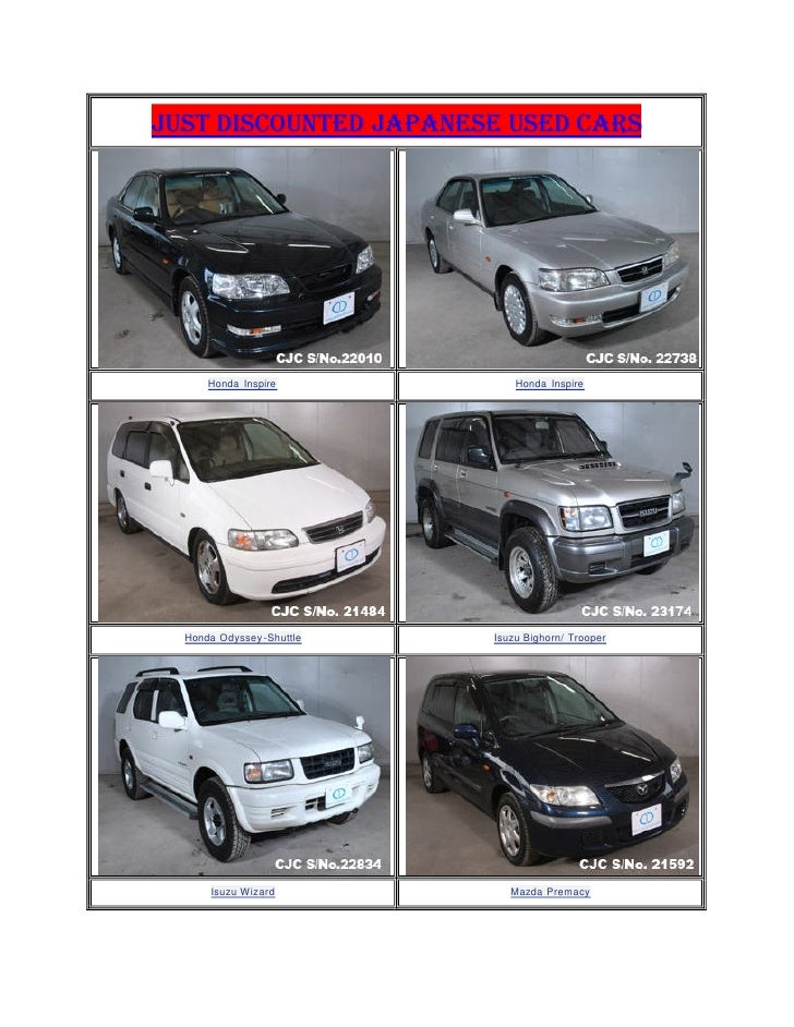 Impex Auto Sales Reviews >> Just Discounted Used Cars Stock Japanese Used Cars | Autos Post