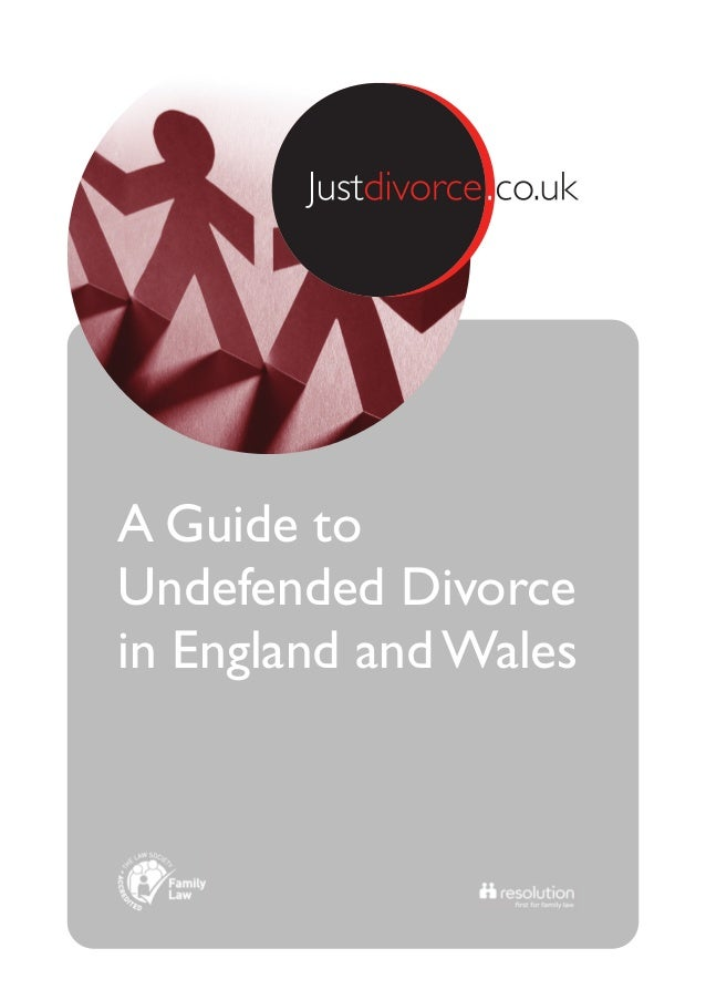 A Guide to Undefended Divorce in England and Wales