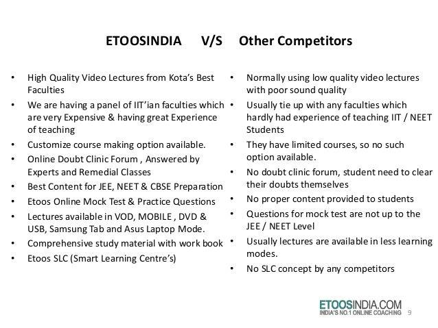Etoosindia : Online Learning Institute in Kota