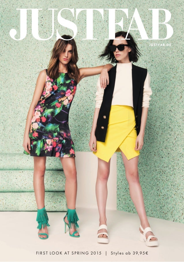 FIRST LOOK AT SPRING 2015 | St yles ab 39,95€ JUSTFAB.DE