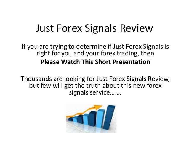 Just forex signals