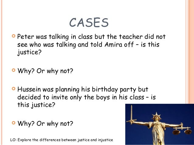 un justice meaning