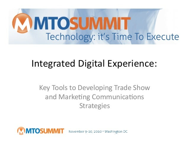 Key Tools to Developing Trade Show and Marketing ...