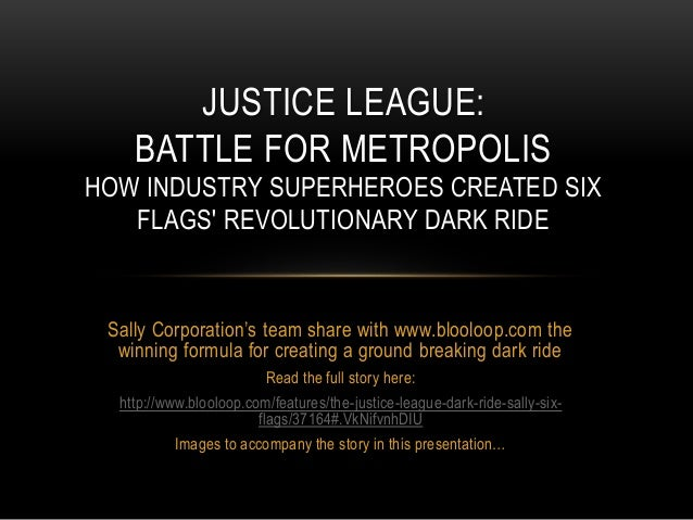 Sally Corporation's team share with www.blooloop.com the winning formula for creating a ground breaking dark ride Read the...
