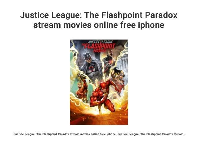 Flashpoint Paradox Stream